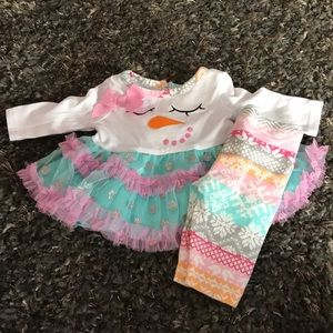 Other - Snowman tutu outfit